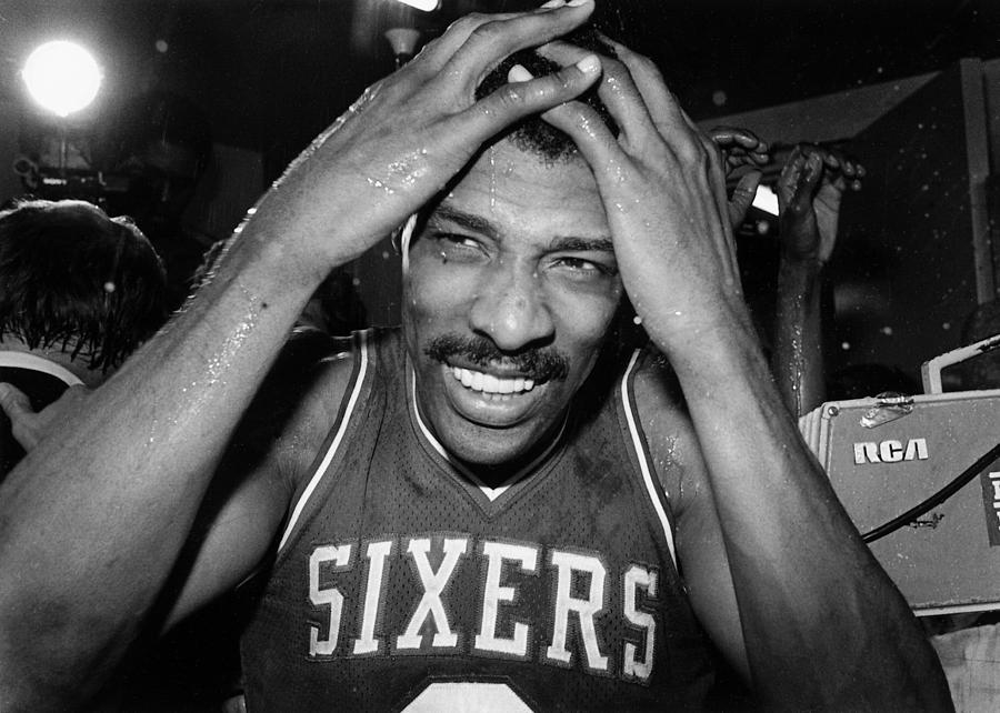 Julius Erving Photograph by Nba Photos