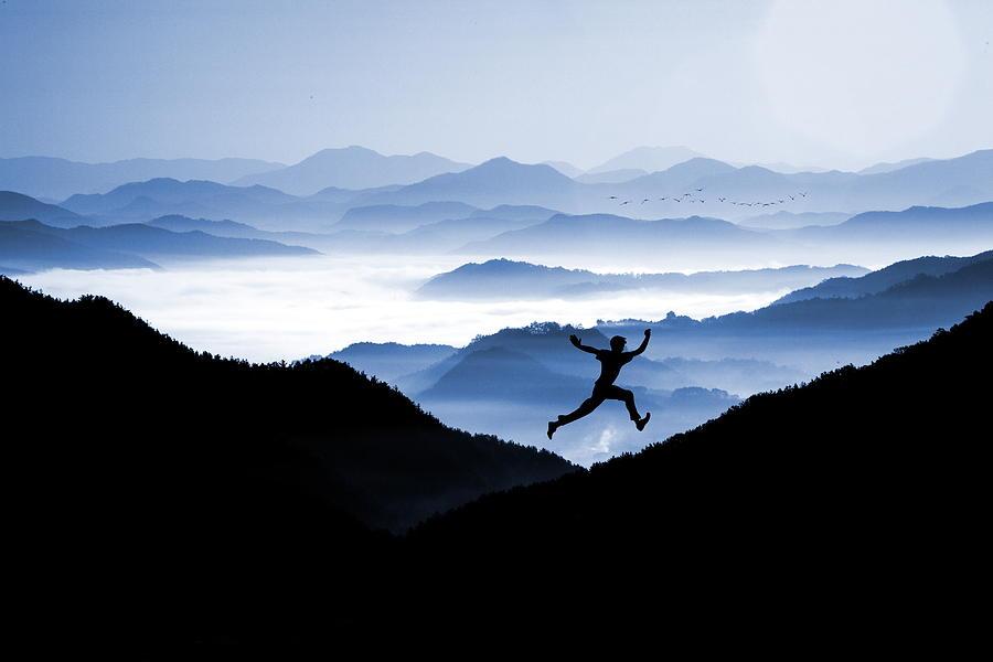 Joy Photograph - Jump For Joy by Andrea Kollo