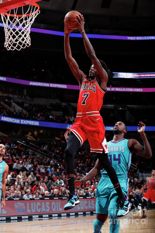 Justin Holiday Photograph by Jeff Haynes