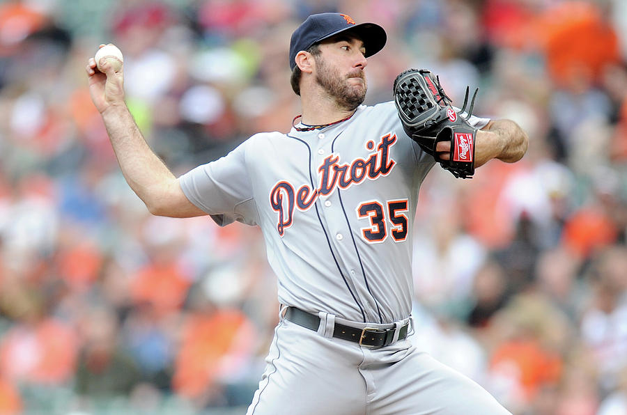 Justin Verlander Photograph by Greg Fiume