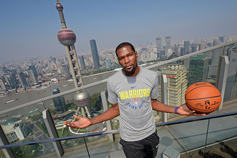 Kevin Durant Photograph by David Dow