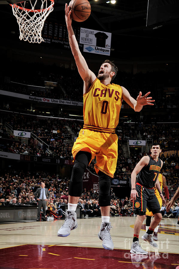 Kevin Love Photograph by David Liam Kyle