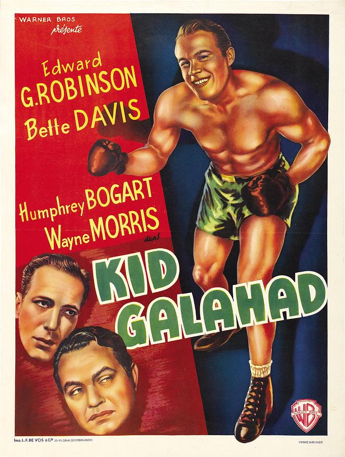 kid Galahad - 1937 Mixed Media