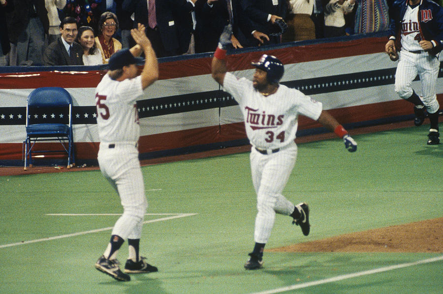 Kirby Puckett Photograph by Focus On Sport