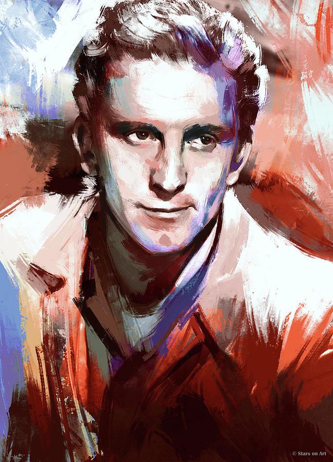 Kirk Douglas by Stars on Art
