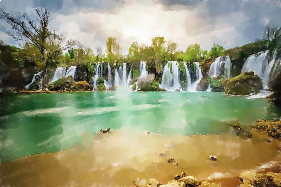 Kravica Waterfalls Photograph