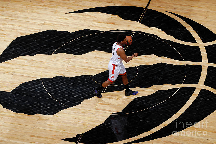 Kyle Lowry Photograph by Mark Blinch