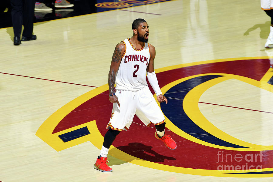 Kyrie Irving Photograph by Jesse D. Garrabrant