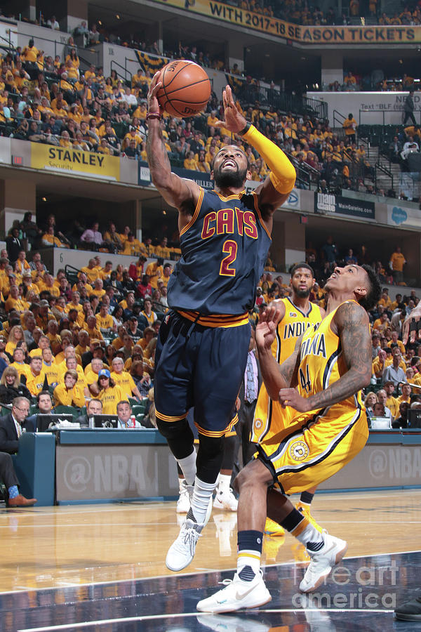 Kyrie Irving Photograph by Ron Hoskins