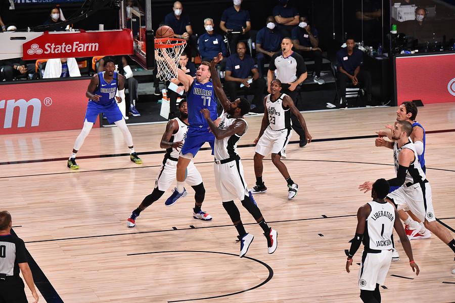 LA Clippers v Dallas Mavericks - Game Three Photograph by David Dow