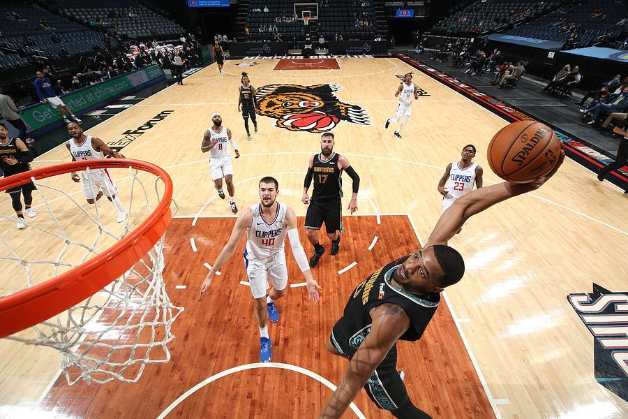 LA Clippers v Memphis Grizzlies Photograph by Joe Murphy