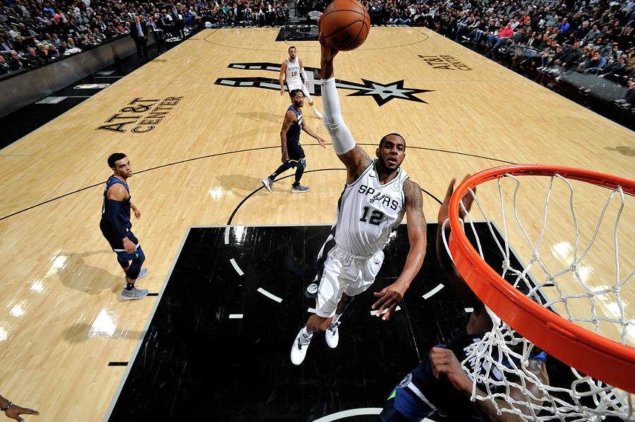 Lamarcus Aldridge Photograph by Mark Sobhani
