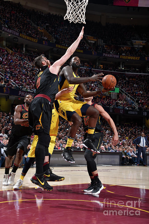 Lance Stephenson Photograph by David Liam Kyle