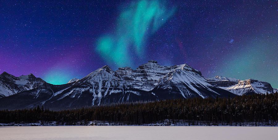 Landscape-aurora And Mountain Photograph by Beijingstory
