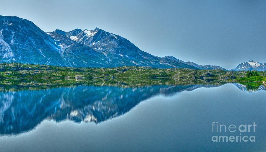 Landscape In Yukon Territory, Canada Photograph