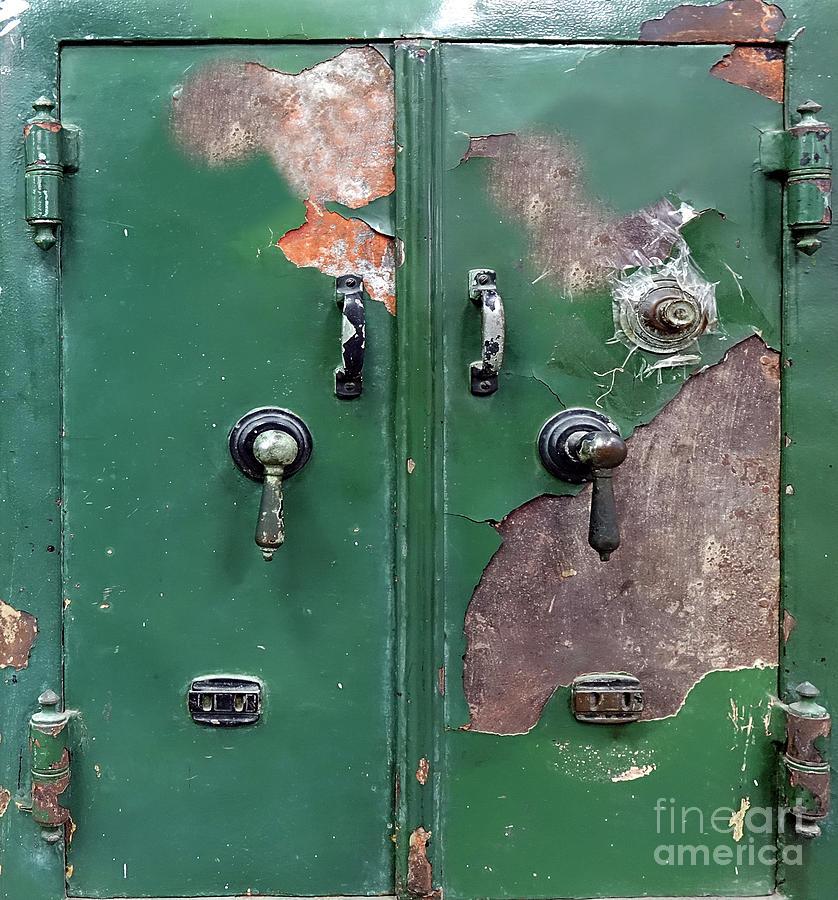 Large Vintage Safe by Yali Shi
