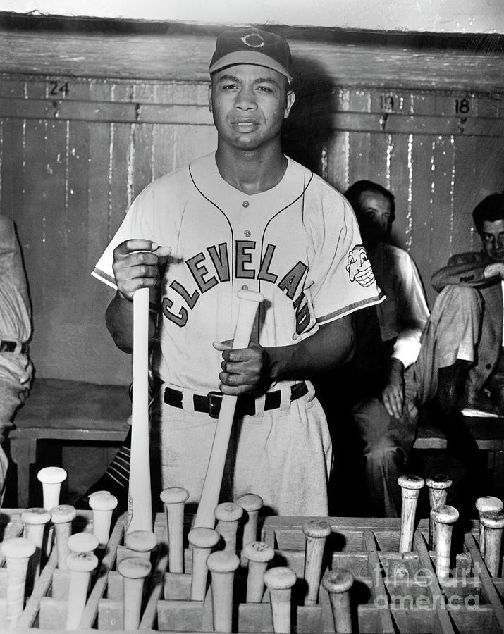 Larry Doby Photograph by National Baseball Hall Of Fame Library