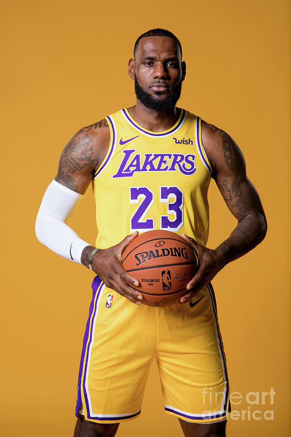 Lebron James Photograph by Atiba Jefferson