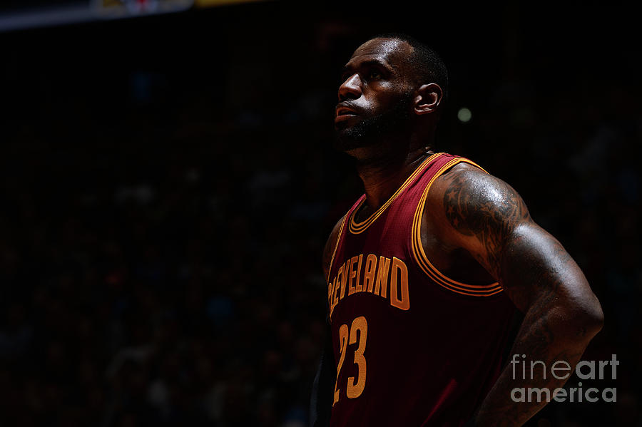 Lebron James Photograph by Bart Young