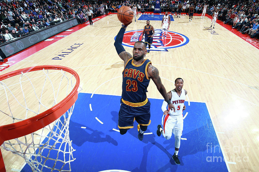 Lebron James Photograph by Brian Sevald