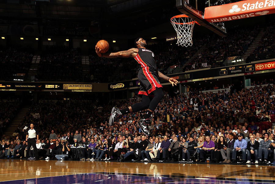 Lebron James Photograph by Ezra Shaw