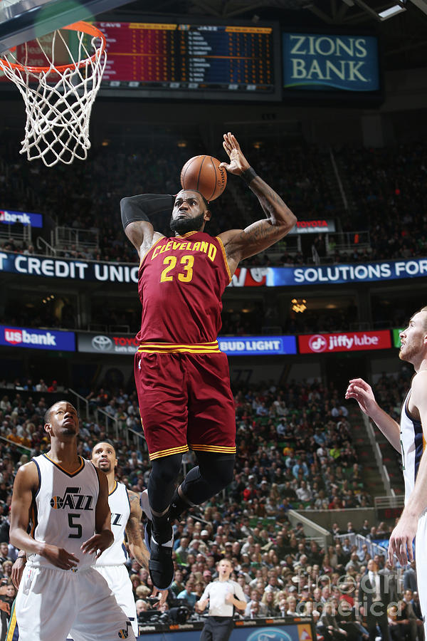 Lebron James Photograph by Melissa Majchrzak