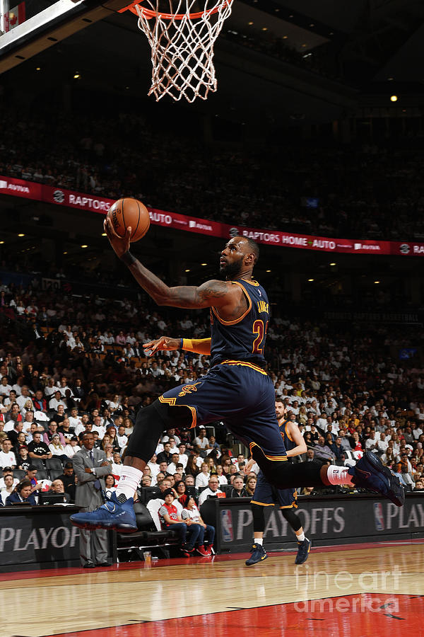 Lebron James Photograph by Ron Turenne