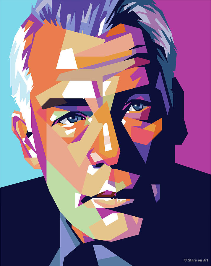 Lee Marvin Painting