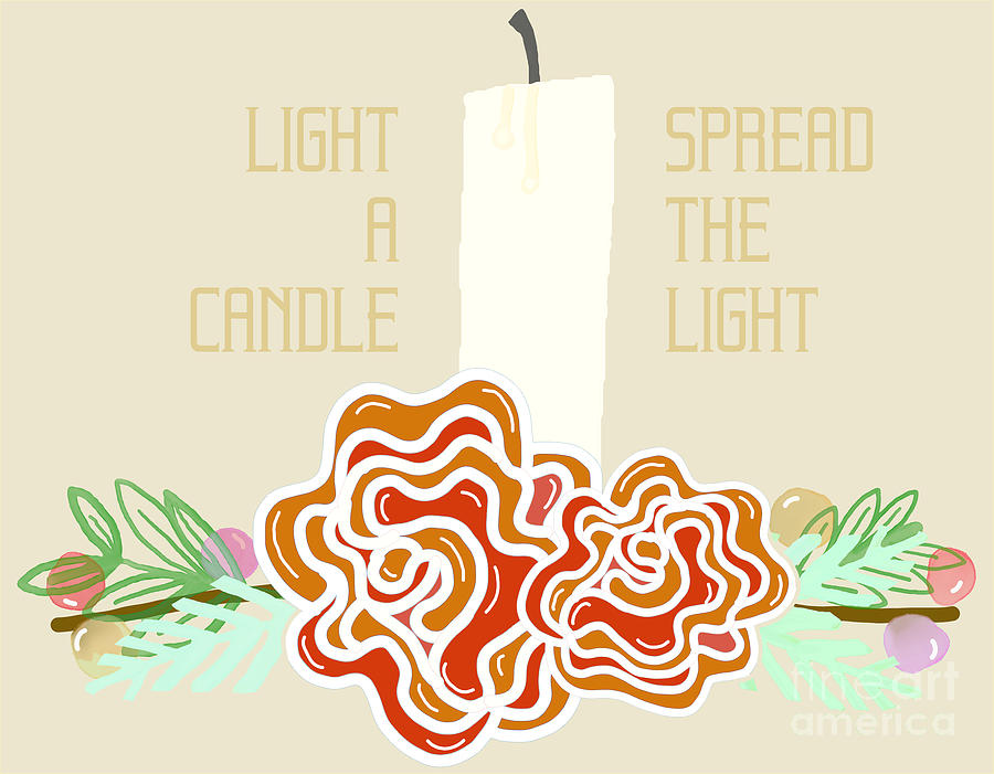 Light A Candle Digital Art