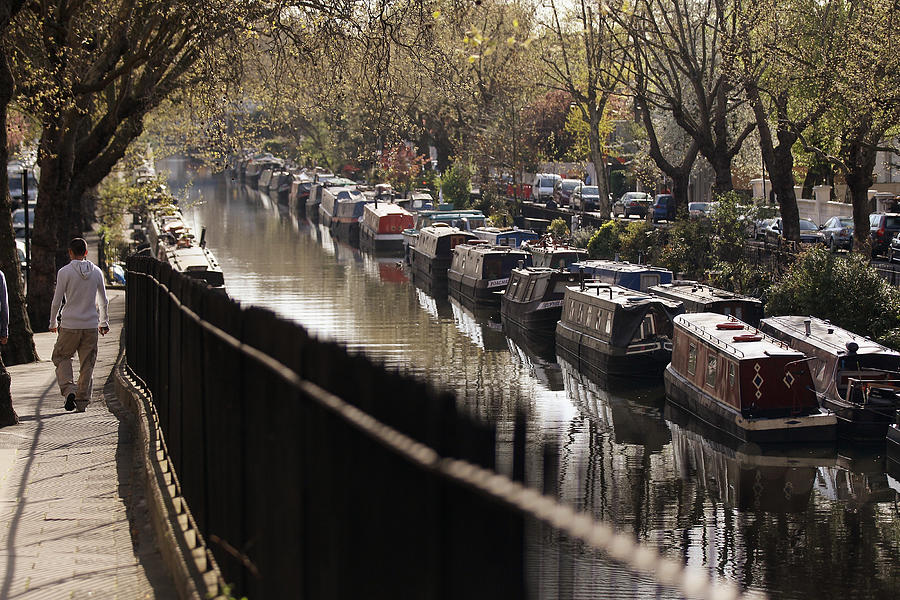 Londoners Enjoy The Warm Spring Weather Photograph by Oli Scarff