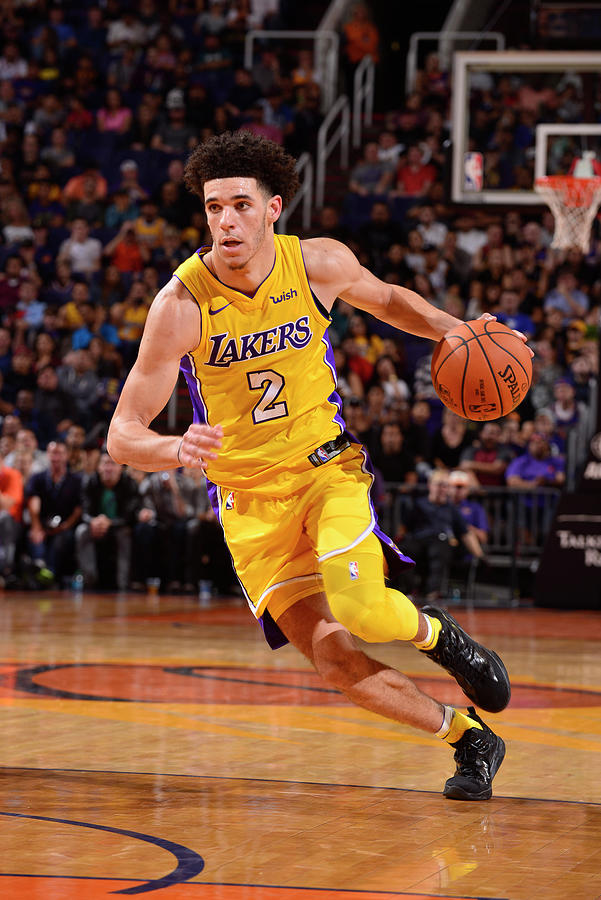Lonzo Ball Photograph by Barry Gossage