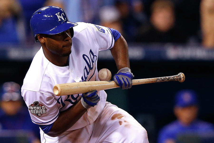 Lorenzo Cain Photograph by Jamie Squire