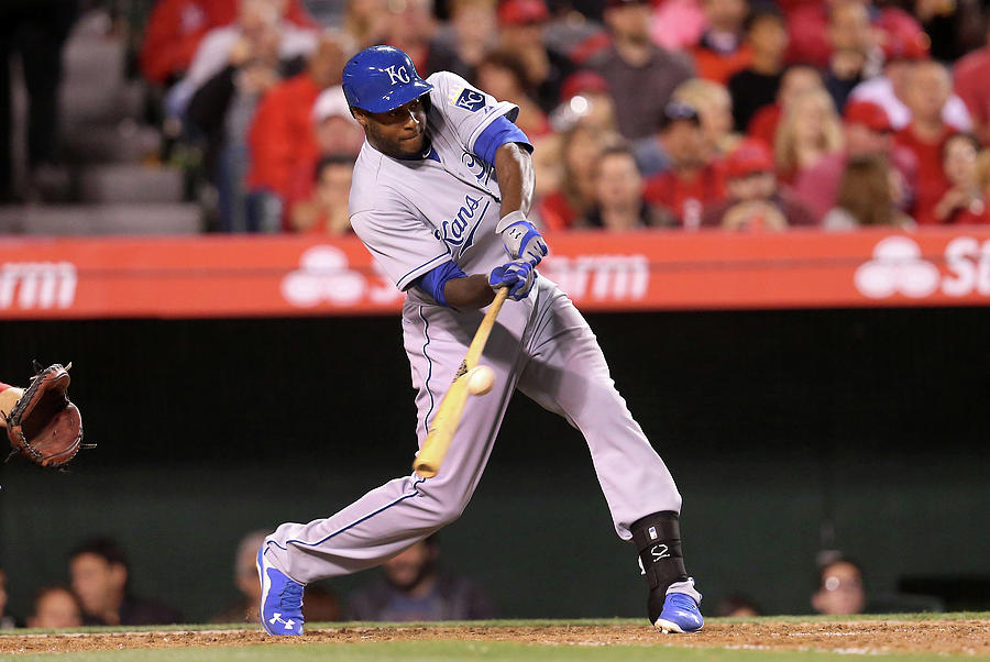 Lorenzo Cain Photograph by Stephen Dunn