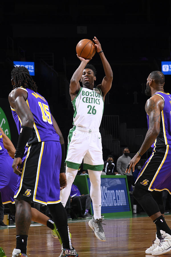 Los Angeles Lakers v Boston Celtics Photograph by Brian Babineau