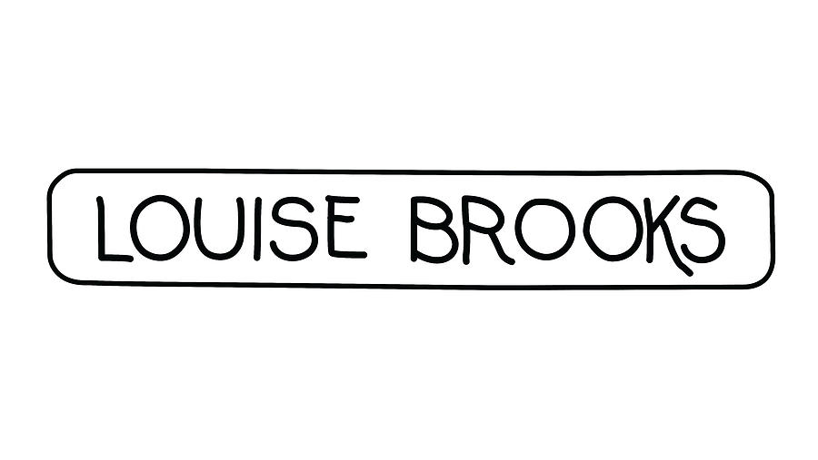Louise Brooks Digital Art - Louise Brooks by Louise Brooks