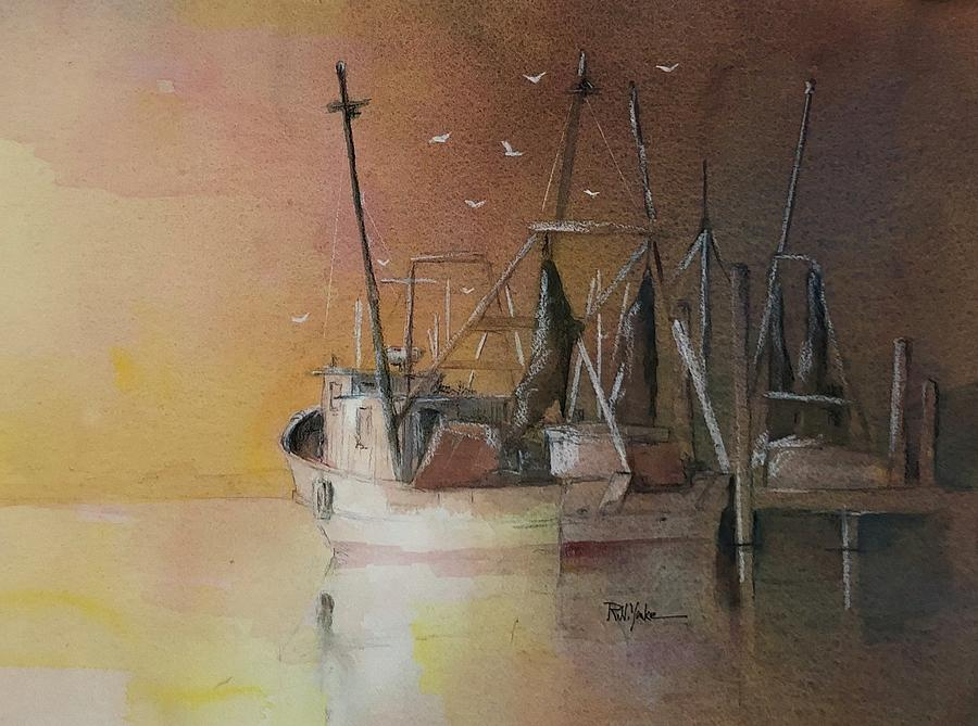 Low Country Painting - Low Country by Robert Yonke
