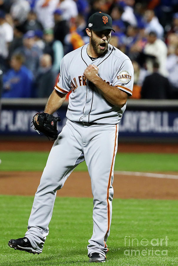 Madison Bumgarner Photograph by Al Bello