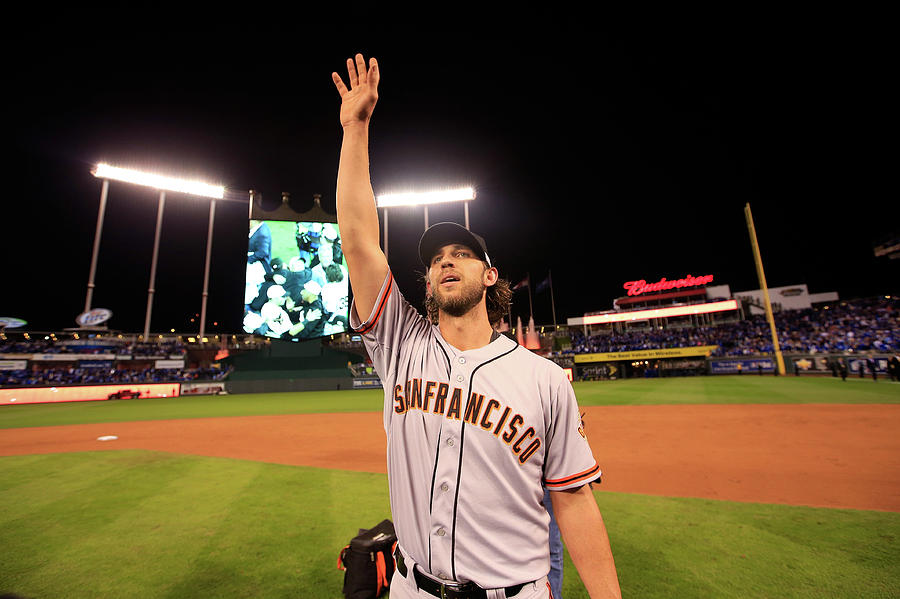 Madison Bumgarner Photograph by Jamie Squire
