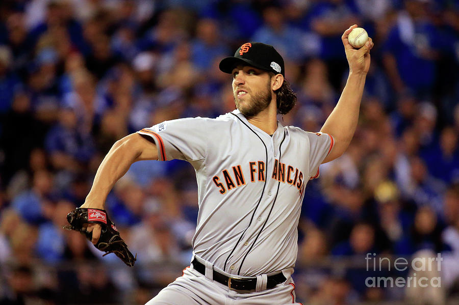 Madison Bumgarner Photograph by Rob Carr