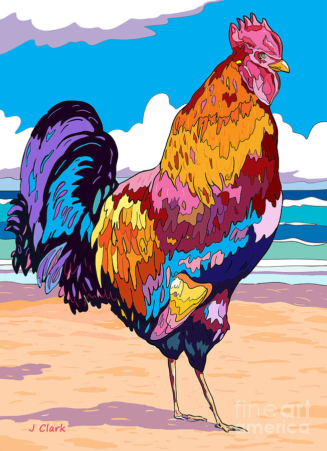 Magnificent Rooster Painting