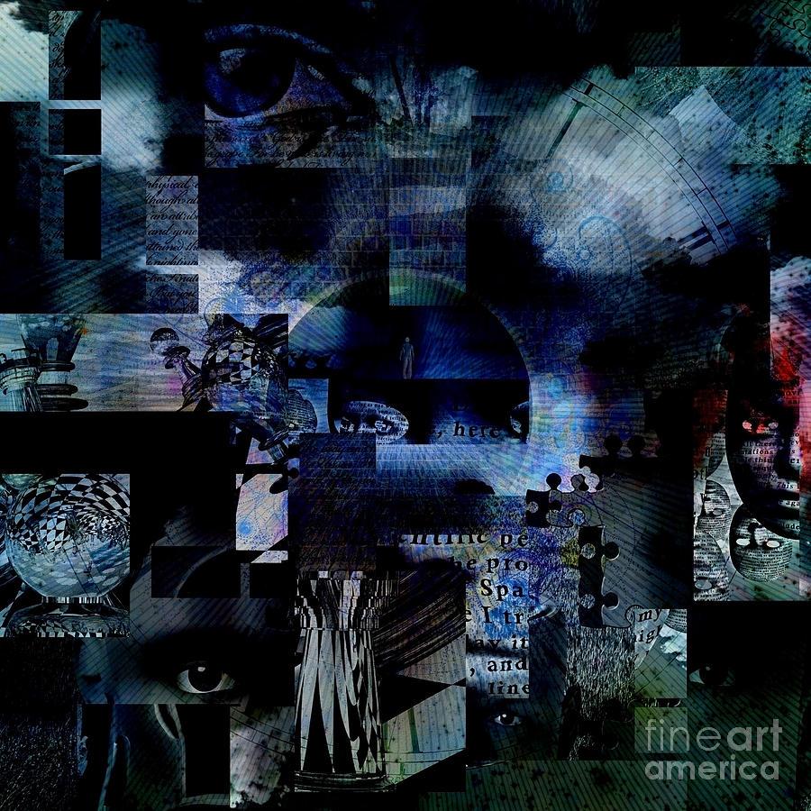 Man On A Road To Heaven Digital Art