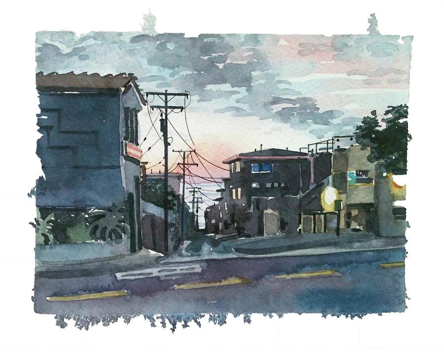 Manhattan Beach Street Painting