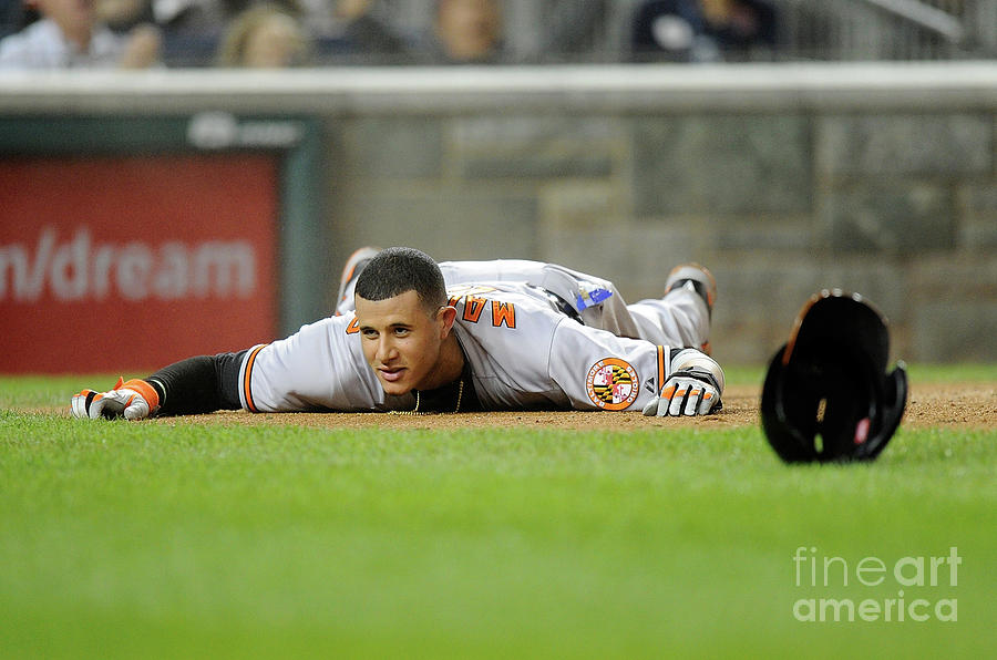 Manny Machado Photograph by Greg Fiume