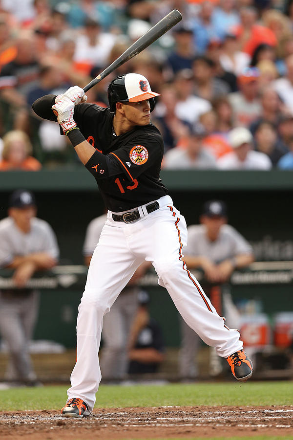 Manny Machado Photograph by Patrick Smith