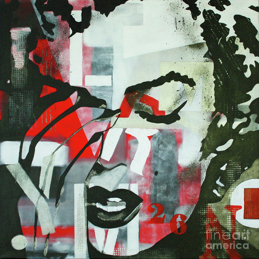 Marilyn Monroe Cry Painting Painting