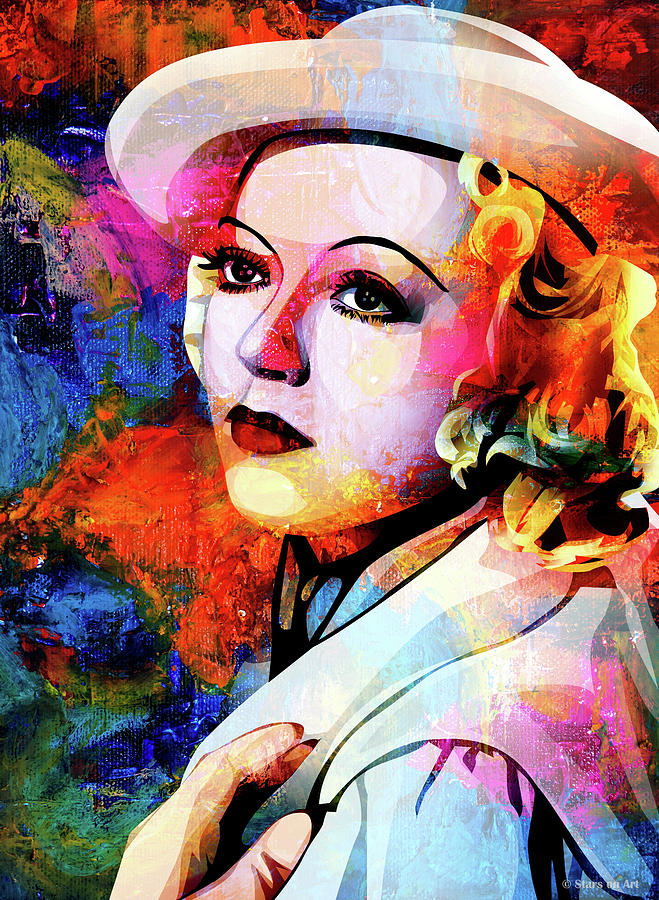 Marion Davies Mixed Media