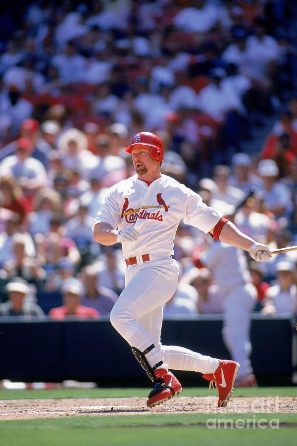 Mark Mcgwire Photograph by Rich Pilling