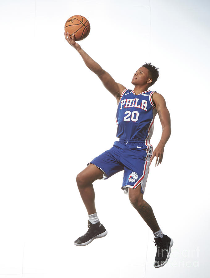 Markelle Fultz Photograph by Nathaniel S. Butler