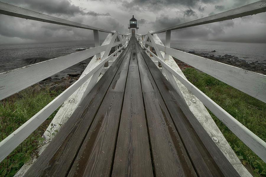 Marshall Point Lighthouse - Maine Photograph