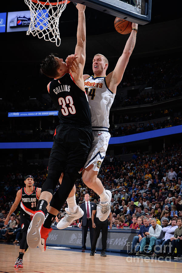 Mason Plumlee Photograph by Bart Young